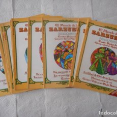 Enciclopedias de segunda mano: EL MUNDO DE LA ZARZUELA. PALABRAS S.A. EDITORIAL. 17 FASCÍCULOS. 1984. BUEN ESTADO. Lote 97155607