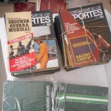 Enciclopedias de segunda mano: ENCICLOPEDIA SALVAT DE LOS DEPORTES. 1979. 13 TOMOS. 168 FASCÍCULOS. PARA ENCUADERNAR. Lote 97157447