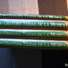 Enciclopedias de segunda mano: LOS GRANDES TEMAS DE LA MÚSICA. 1983. SALVAT. Lote 97214679