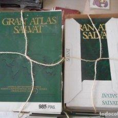 Enciclopedias de segunda mano: GRAN ATLAS SALVAT. 26 TOMOS. 6-UNIVERSO; 4-ESPAÑA; 16-GENERAL. GRAN TAMAÑO. NUEVOS, SIN USO. Lote 97232663