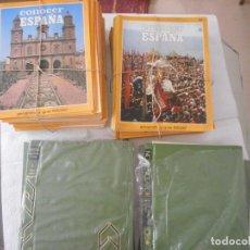 Enciclopedias de segunda mano: CONOCER ESPAÑA. GEOGRAFÍA Y GUÍA SALVAT. 11 TOMOS 150 FASCÍCULOS. 1973. PARA ENCUADERNAR. Lote 97233787