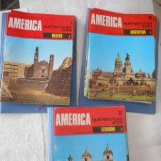 Enciclopedias de segunda mano: AMÉRICA QUÉ HERMOSA ERES. MATEU EDITOR. 55 FASCÍCULOS. 1968. BUEN ESTADO. Lote 97238639
