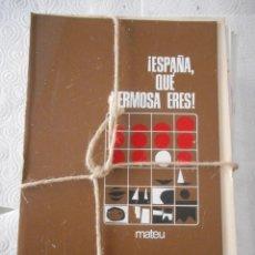 Enciclopedias de segunda mano: ESPAÑA, QUE HERMOSA ERES. MATEU. 2 TOMOS. BUEN ESTADO. Lote 97240559