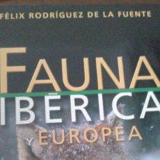 Enciclopedias de segunda mano: FAUNA IBERICA Y EUROPEA - FELIX R. DE LA FUENTE - 12 TOMOS . Lote 97494183