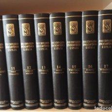 Enciclopedias de segunda mano: DICCIONARIO ENCICLOPEDICO ESPASA 18 TOMOS. Lote 97824748