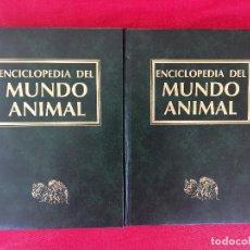 Enciclopedias de segunda mano: LAS AVES ENCICLOPEDIA DEL MUNDO ANIMAL TOMOS 7 Y 8 DE AVESTRUZ A TORILLOS Y DE CHORLITOS A PICOS . Lote 98471535