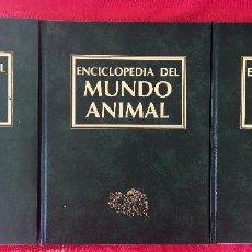 Enciclopedias de segunda mano: PECES INVERTEBRADOS ACUÁTICOS ANFIBIOS Y REPTILES ENCICLOPEDIA DEL MUNDO ANIMAL TOMOS 10 11 Y 12. Lote 98473875