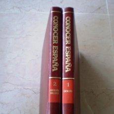 Enciclopedias de segunda mano: CONOCER ESPAÑA - 2 TOMOS - SALVAT. Lote 98634187