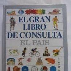 Enciclopedias de segunda mano: EL GRAN LIBRO DE CONSULTA,EL PAIS. Lote 98827455