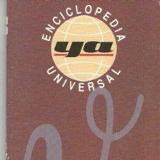 Enciclopedias de segunda mano: ENCICLOPEDIA UNIVERSAL YA.TOMO 19.. Lote 98896939