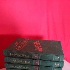 Enciclopedias de segunda mano: FAUNA MUNDIAL. FELIX RODRÍGUEZ DE LA FUENTE. 1995. . Lote 98918531