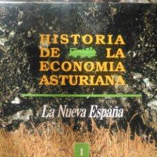 Enciclopedias de segunda mano: HISTORIA DE LA ECONOMÍA ASTURIANA. ENCICLOPEDIA DE LA NUEVA ESPAÑA EN 4 TOMOS. CARTONÉ. PÁGINAS 1068. Lote 100049939