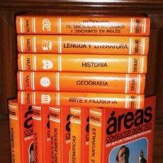 Enciclopedias de segunda mano: AREAS: CONSULTOR DIDÁCTICO 10T POR GIMENO, TAIBO Y PALAU DE ED. NAUTA EN BARCELONA 1989. Lote 100432055