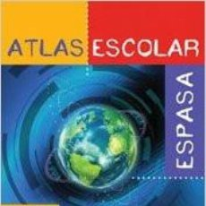 Enciclopedias de segunda mano: ATLAS ESCOLAR ESPASA (REFERENCIA ILUSTRADA) TAPA DURA –2006. Lote 100546283