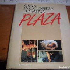 Enciclopedias de segunda mano: GRAN ENCICLOPEDIA TEMATICA PLAZA, HOMBRE Y SALUD. EDICION PLAZA & JANES DE 1988.. Lote 100597159