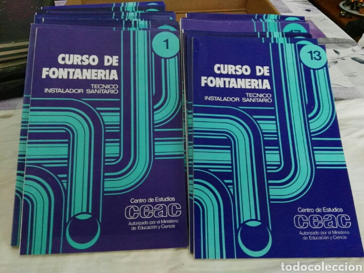 Curso fontanería para técnico instalador - España - Curso fontanería para  tecnico instalador 24 tomos pero f05cea6ccf7