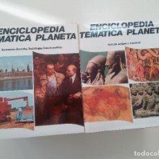 Enciclopedias de segunda mano: ENCICLOPEDIA TEMATICA PLANETA-COMPLETA-10 TOMOS-ED. PLANETA 1979-TAPA DURA-SOBRECUBIERTA- . Lote 101383747