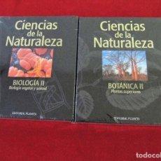 Livros em segunda mão: 2 TOMOS LIBROS NUEVOS BOTANICA BIOLOGIA ENCICLOPEDIA DE LA NATURALEZA EDITORIAL PLANETA. Lote 102363695