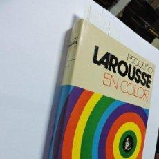 Enciclopedias de segunda mano: PEQUEÑO LAROUSSE EN COLOR. GARCÍA-PELAYO Y GROSS, RAMÓN. ED. LAROUSSE. PARIS 1972. Lote 102847487