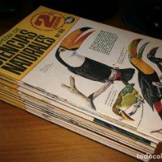 Enciclopedias de segunda mano: LOTE 35 FASCÍCULOS ENCICLOPEDIA DE CIENCIAS NATURALES - EDT. BRUGUERA, 2ª EDICIÓN, BARCELONA, 1969.. Lote 103468019