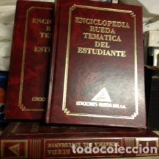 Enciclopedias de segunda mano: ENCICLOPEDIA RUEDA TEMÁTICA DEL ESTUDIANTE. Lote 103870739
