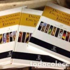 Enciclopedias de segunda mano: DICCIONARIO ENCICLOPÉDICO ESPASA. Lote 103871927