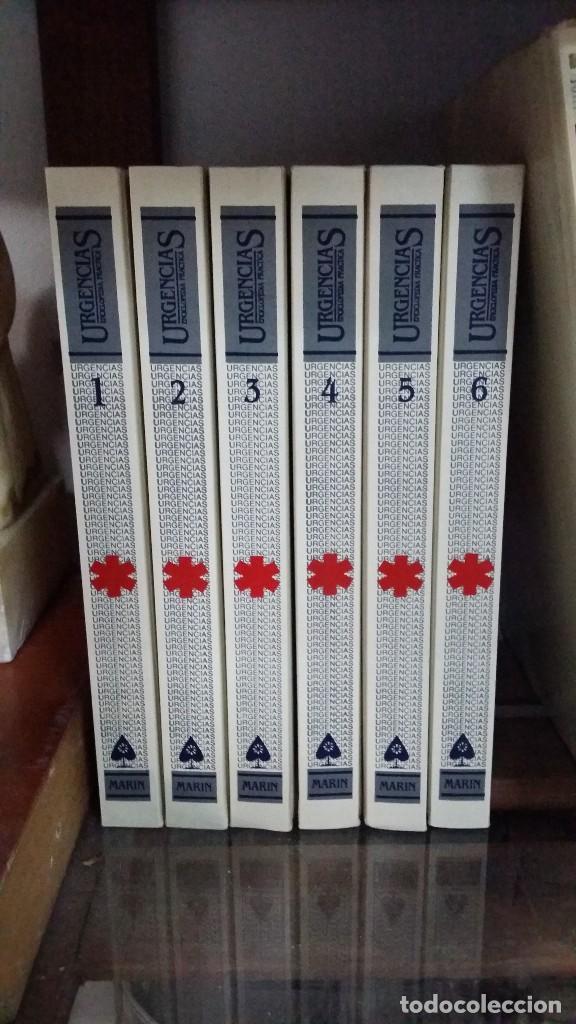 URGENCIAS, GUIA DE ASISTENCIA MEDICO SANITARIA, COMPLETA Y NUEVA (Libros de Segunda Mano - Enciclopedias)