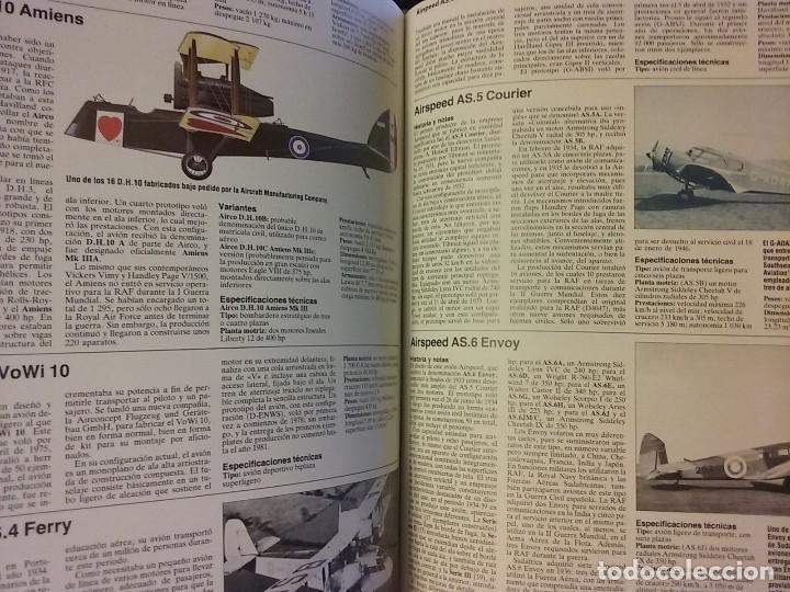 Enciclopedias de segunda mano: ENCICLOPEDIA ILUSTRADA DE LA AVIACIÓN, EDITORIAL DELTA - Foto 3 - 175326923