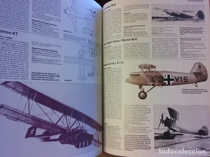 Enciclopedias de segunda mano: ENCICLOPEDIA ILUSTRADA DE LA AVIACIÓN, EDITORIAL DELTA - Foto 7 - 175326923