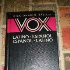 Enciclopedias de segunda mano: DICCIONARIO BASICO LATINO-ESPAÑOL-ESPAÑOL-LATINO EXCELENTE CONDICION. Lote 104851367
