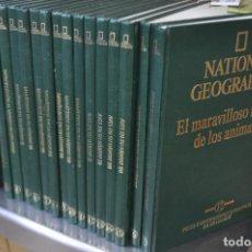 Enciclopedias de segunda mano - national geographic , el maravilloso mundo de los animales - 17 tomos completa - ENM - 105006255