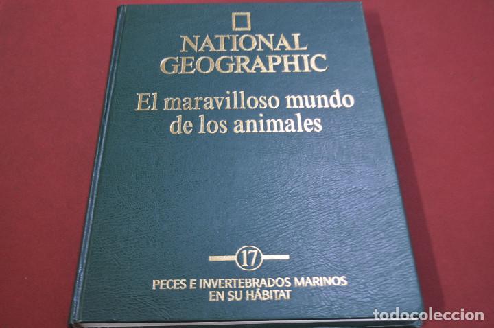 Enciclopedias de segunda mano: national geographic , el maravilloso mundo de los animales - 17 tomos completa - ENM - Foto 4 - 105006255
