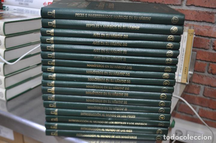 Enciclopedias de segunda mano: national geographic , el maravilloso mundo de los animales - 17 tomos completa - ENM - Foto 5 - 105006255