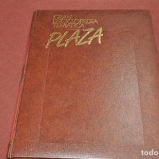Enciclopedias de segunda mano: 1 TOMO GRAN ENCICLOPEDIA TEMATICA PLAZA - TOMO DE LENGUA Y LITERATURA - PLAZA JANES - ENM. Lote 105044355