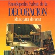 Enciclopedias de segunda mano: ENCICLOPEDIA SALVAT DE LA DECORACIÓN 20 VOLÚMENES. Lote 106335011