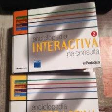 Enciclopedias de segunda mano: ENCICLOPEDIA INTERACTIVA DE CONSULTA - COMPLETA CON 35 CD-ROM - EL PERIÓDICO. Lote 106950407