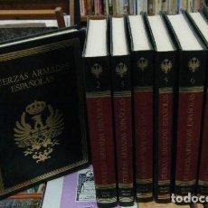 Enciclopedias de segunda mano: FUERZAS ARMADAS ESPAÑOLAS. HISTORIA INSTITUCIONAL Y SOCIAL. 8 TOMOS A-HM-1116. Lote 107008795