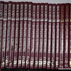 Enciclopedias de segunda mano: DICCIONARIO ENCICLOPEDICO LAROUSSE: OBRA COMPLETA EN 16 TOMOS + 4 SUPLEMENTOS; AÑO 1984. Lote 107240907