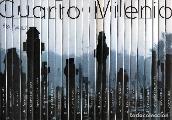 Cuarto milenio 3ª coleccion completa 25 libros - Vendido en ...