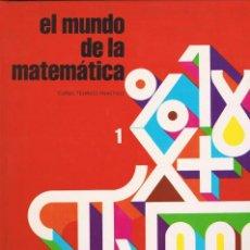 Enciclopedias de segunda mano: ENCICLOPEDIA: EL MUNDO DE LAS MATEMÁTICAS.4 TOMOS VER FOTOGRAFIAS (COMO NUEVA). Lote 107533871