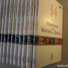Enciclopedias de segunda mano: PERSONAJES DE LA HISTORIA DE ESPAÑA - 14 TOMOS - ABC - ESPASA - . Lote 107821951