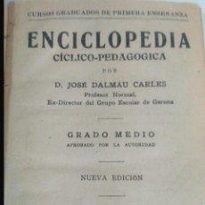 Enciclopedias de segunda mano: ENCICLOPEDIA DALMAU. Lote 108389478