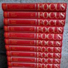 Enciclopedias de segunda mano: 15 TOMOS - GRAN ENCICLOPEDIA FOCUS - ED ARGOS VERGARA. Lote 108753783