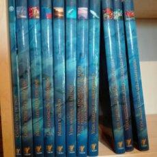 Enciclopedias de segunda mano: EL MUNDO SUBMARINO. RUEDA. 10 TOMOS Y 6 DVDS. ENCICLOPEDIA COMPLETA. Lote 109472132