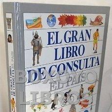 Enciclopedias de segunda mano: AAVV. EL GRAN LIBRO DE CONSULTA EL PAÍS. Lote 110166879