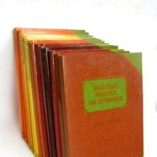 Enciclopedias de segunda mano: BIBLIOTECA PRÁCTICA DEL ESTUDIANTE - COMPLETA 14 TOMOS - CLUB INTERNACIONAL DEL LIBRO - ILUSTRADO. Lote 110410175