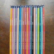 Enciclopedias de segunda mano: SEREIS CAMPEONES. COLECCION COMPLETA. 1991. LA VANGUARDIA. 20 NUMEROS. Lote 110551467