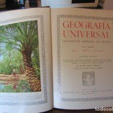 Enciclopedias de segunda mano: GEOGRAFÍA UNIVERSAL DESCRIPCIÓN MODERNA DEL MUNDO.4 VOLÚMENES. AÑO 1952-53. INSTITUTO GALLACH.. Lote 110633591