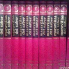 Enciclopedias de segunda mano: ENCICLOPEDIA MARAVILLAS DEL SABER. 12 TOMOS. Lote 110694152