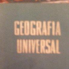 Enciclopedias de segunda mano: 1961. GEOGRAFÍA UNIVERSAL REBAGLIATO.. Lote 110709575